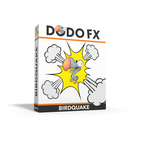 sound effects that will make things shake - Dodo fx birdquake